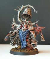 COMMISSION Warhammer 40k Death Guard Noxious Blightbringer in Steam-Punk Style