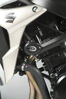 R&G RACING Aero Crash Protectors, WHITE, Suzuki GSR750 2011- *WHITE*