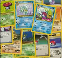 10 x original 1999 2003 old sets Pokemon Cards Joblot Bundle ~ 100% Genuine wotc
