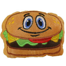 Nanco Plush - Fast Food - HAMBURGER (5 inch) - New Stuffed Toy