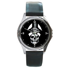 Ghost BC Papa Emeritus Rock Band Black Leather Wrist Watches New