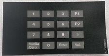 Gilbarco Eu03001G005 Encore Crind keypad overlay (español)