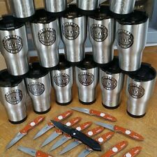 RTIC Tumbler Stainless Steel Travel Cup Thermos Mug  + Laser Engraving Option
