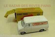 "BEDFORD VAN DINKY TOYS série limitée JOHN GAY. REF:410 ""collectors gazette"""