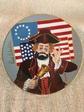 Let Freedom Ring Collector Plate Hand Signed Red Skelton #108