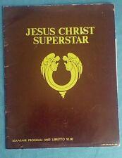 Jesus Christ Superstar 1971 Souvenir Program And Libretto