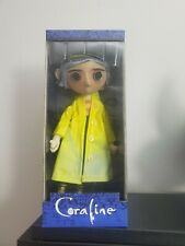 "10"" CORALINE DOLL RAINCOAT BOOTS REPLICA PROP NECA"