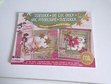 BOOK (21X15 CM) 3D DIE CUT BLOCK NO SCISSORS NEED/CLASSIC  CHRISTMAS (Z07) NEW