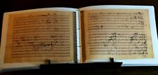 BEETHOVEN'S SYMPHONY NUMBER 9 IN D MINOR, 1822 facsimile