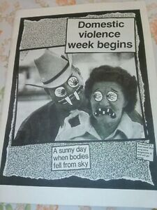 ****Dead Kennedys - Give Me Convenience Or Give Me Death insert leaflet****