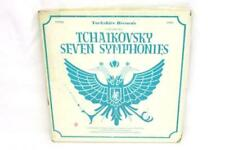 Tchaikovsky Seven Symphonies Vtg LP 7 Record Set Yorkshire Records 27003
