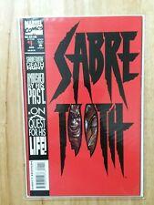 Sabretooth #1-1993  Die-Cut Cover NM