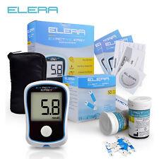 Blood Glucose Meters Diabetics Test Glycuresis Glucometer 50 Strips + 50 Needles