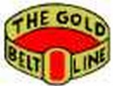 GOLD BELT LINES BOX CAR ADHESIVE STICKER  for American Flyer S Gauge Trains
