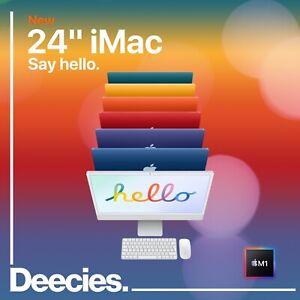 """Apple iMac M1 24-inch 4.5k 8c/8c 16gb RAM 256GB SSD NEW Mac 24""""  ALL COLOURS"""