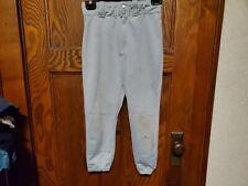 Wilson Baseball Softball Boys Youth Athletic Sports Pants Size Medium Gray