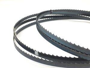 "Bandsaw blades 4tpi 2255x10x4S (88 3/4""x3/8""x4S) & 2368x10x4S (93 1/4""""x3/8""x4S)"