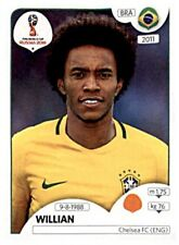 Panini Fifa World Cup 2018 Russia Sticker 361 Willian Brasilien