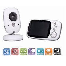 3.2'' Drahtlos BABY Babypflege Babyphone mit Kamera Video Monitor Nachtlicht