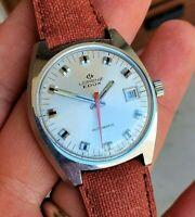 Lorenz EDOX automatic Vintage Watch 27404-6 Cal Eta 2783 RARE Diver Rally