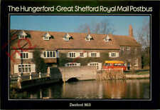 Postcard: Royal Mail, The Hungerford-Great Shefford Postbus, Denford Mill