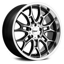 Volkswagen Jetta 11-18 TSW YAS Wheels 19x8.5 (+42, 5x112) Black Rims Set of 4