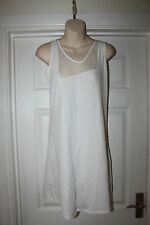 Ladies White Kokomarina Dress Size S Lycra Tunic Top