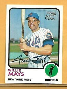 Willie Mays Topps Certified Autograph Issue 1996 Topps Card #27
