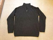 Gant Medium Lambswool Zip Neck Men's Jumpers & Cardigans