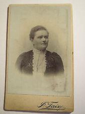 Praha - Prag - Frau im Kleid - Portrait / CDV