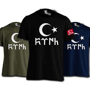 Göktürk Türk T-Shirt Ayyildiz Tshirt Galatasaray Trabzon Besiktas Türkei Türkiye