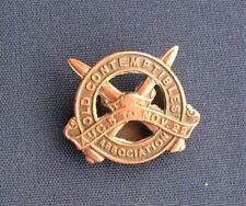 More details for rare wwi old contemptibles association bronze lapel badge no 741e - toye & co