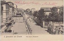 SAN BENEDETTO DEL TRONTO - VIALE REGINA MARGHERITA (ASCOLI PICENO) 1905