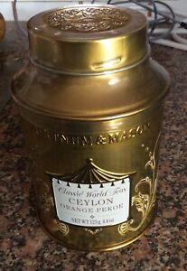 Fortnum And Mason Ceylon Orange Pekoe Gold Tin 125g New And Sealed BBE 1/7/23