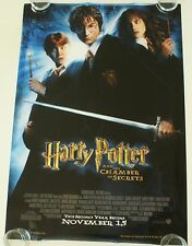 HARRY POTTER CHAMBER OF SECRETS 27X40 DS MOVIE POSTER ONE SHEET NEW AUTHENTIC