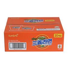 Korean Instant Noodle SAMYANG RAMYUN ORIGINAL Ramen Ramyeon 20pack Box Package