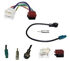 Coche Cable Adaptador de Antena Radio Din Iso Kit Altavoz Hifi Vehículo Estereo