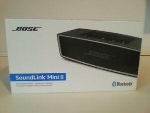 Bose SoundLink Mini II Tragbares Lautsprechersystem - Carbon (725192-2110)