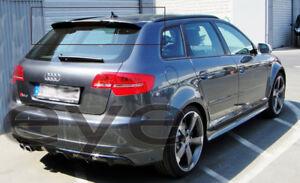 Glossy Black VRS Rear Roof Spoiler Wing For 2007~11 Audi A5 8T Sportback 4-Door