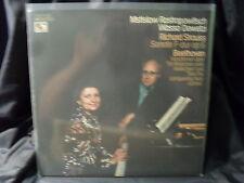 R. Strauss-sonata F-oap/Beethoven-vaiationen op.66 & woo 45/Rostropóvich/