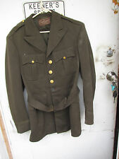 [DF] vintage Army dress tunic jacket taylored by Kaufmanns Pittsburgh Pa