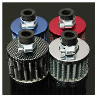13mm Oil Mini Breather Cold Air Filter Fuel Crankcase Engine for Car H3D2 U H2L0