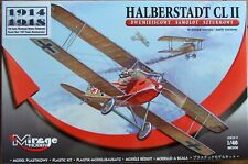 MIRAGE HOBBY 1/48 HALBERSTADT CL.II Early Version 481306. Etched details WWI