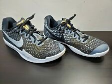 Nike Kobe Mamba Instinct Shoes 852473-010 Black/Gold/Silver Bryant NBA Men's 9.5