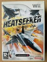 Heatseeker Nintendo Wii Codemasters Air Combat Flight Simulator Video Game