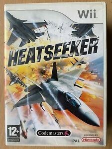 Heatseeker Nintendo Wii Codemasters Air Combat Flight Simulator Video Game