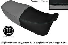 GREY AND BLACK VINYL CUSTOM FITS HONDA VF 750 F 83-84 DUAL SEAT COVER ONLY