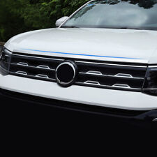 Stainless Steel Front Hood Cover Trim For Volkswagen T-Cross 2019 - 2020