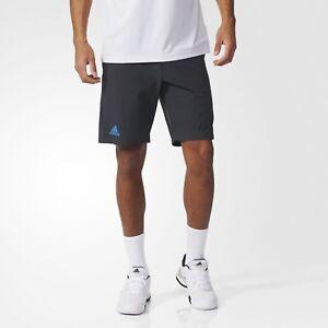 adidas Herren Tennis Barricade Bermuda Hose Sporthose Fitness Climacool ® grau