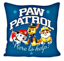 Zampa Patrol Cuscino Morbido Decorativo Cuddle Blu 40x40